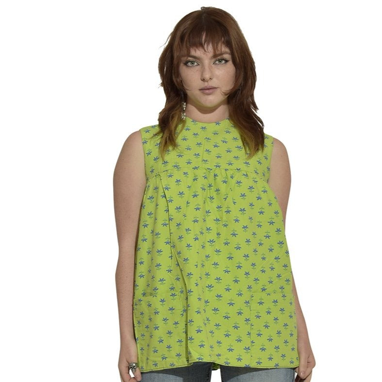 Green Dolly Smock