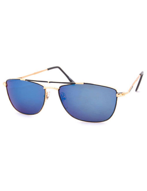 hagan gold sunglasses