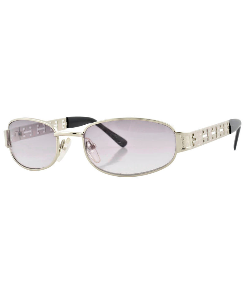 hal silver smoke sunglasses