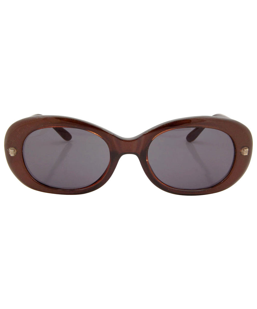 hamburg brown sunglasses