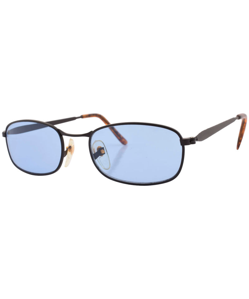 hans black blue sunglasses