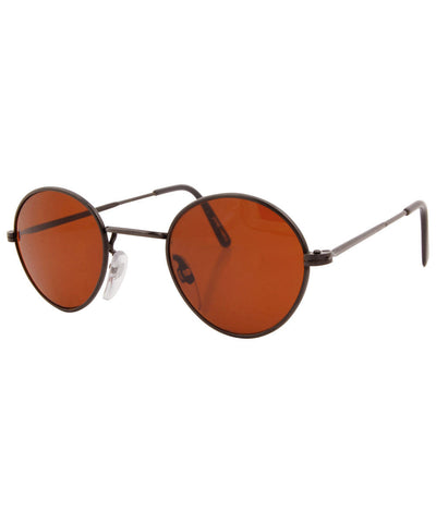 harding black rust sunglasses