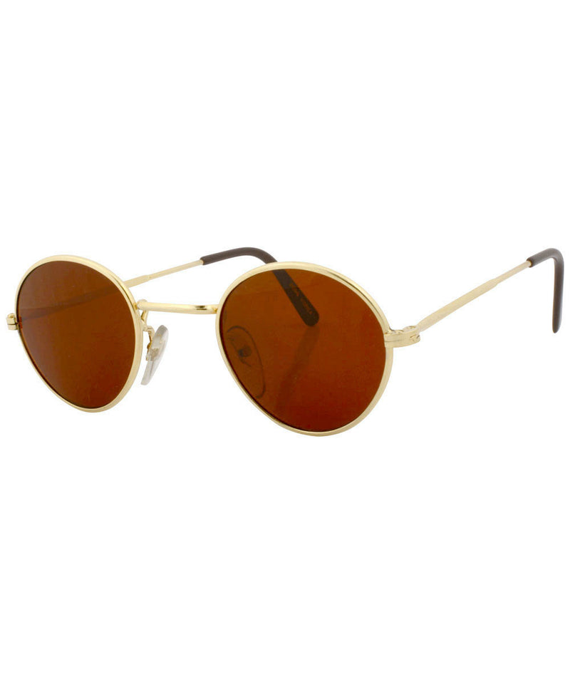 harding gold rust sunglasses
