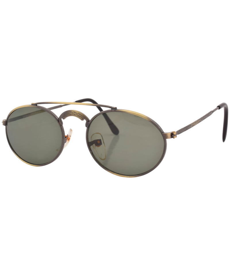 harum brass sunglasses