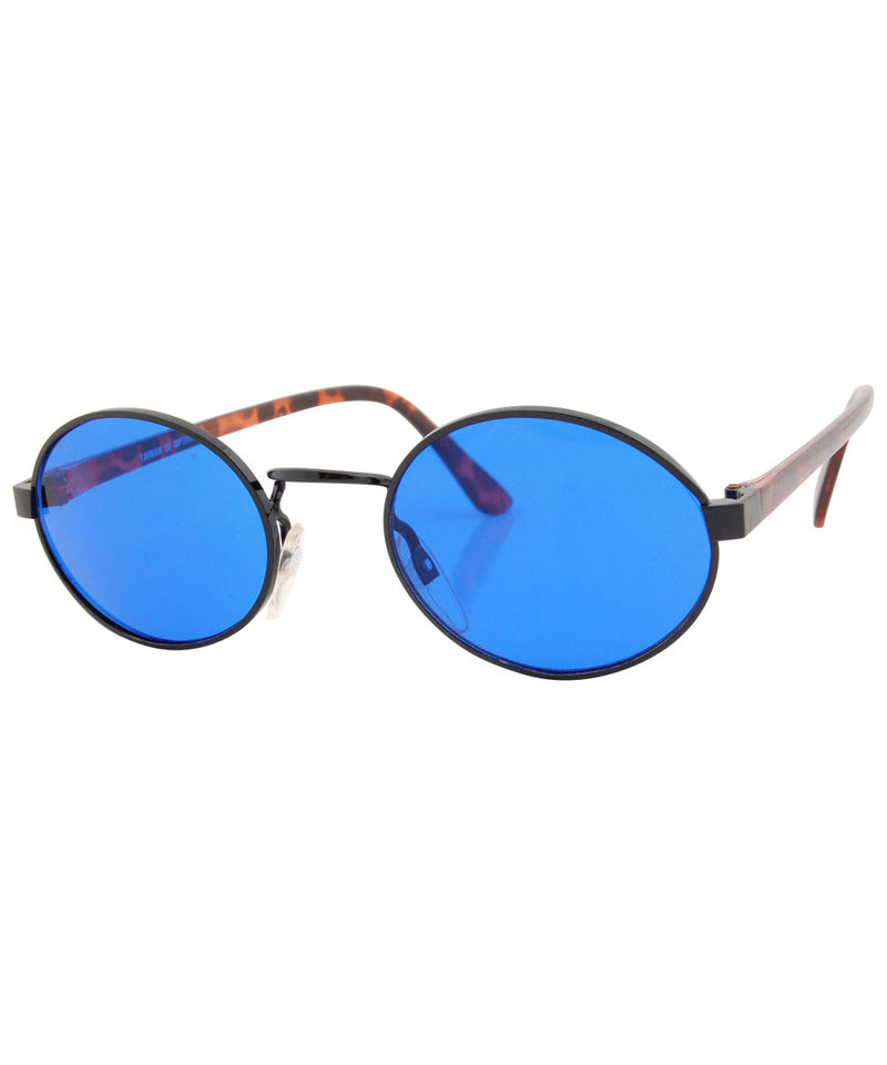 haysi blue black sunglasses