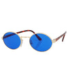 haysi blue gold sunglasses