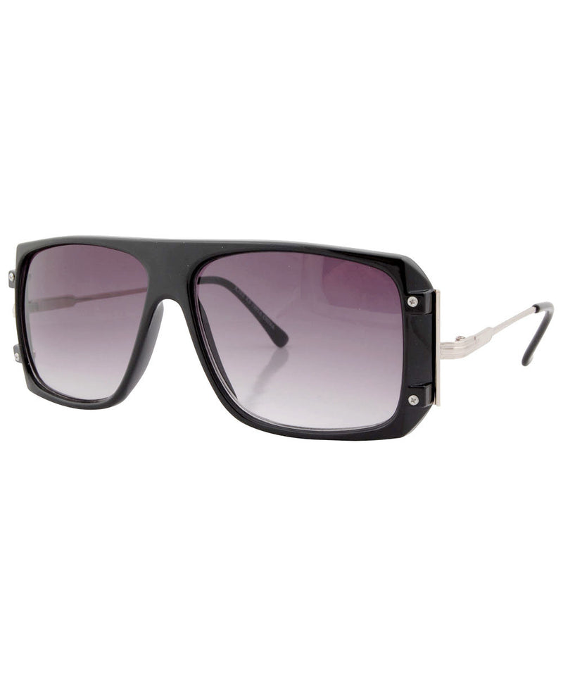haywood black sunglasses