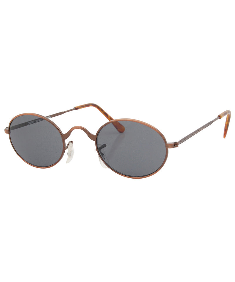 heaps copper sunglasses