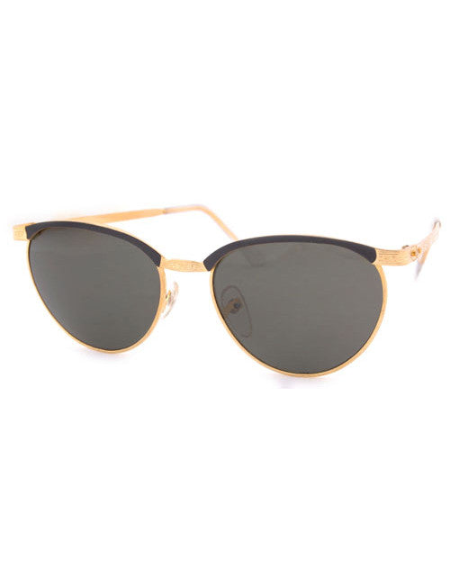 hitch gold black sunglasses