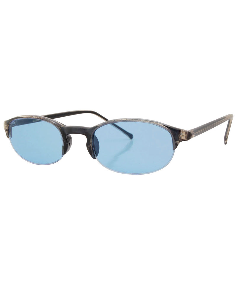 hoff blue sunglasses