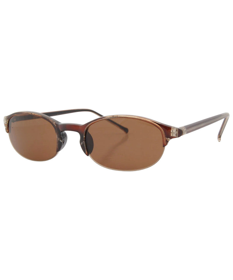 hoff brown sunglasses
