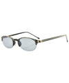 rimless sunglasses