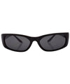 hoja black sunglasses