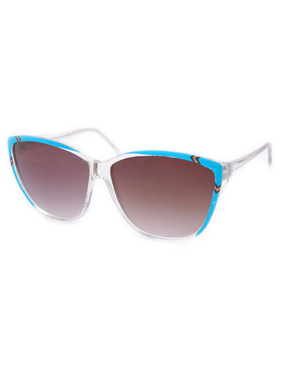 hopi crystal blue sunglasses