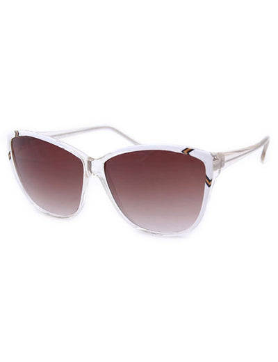 hopi crystal white sunglasses
