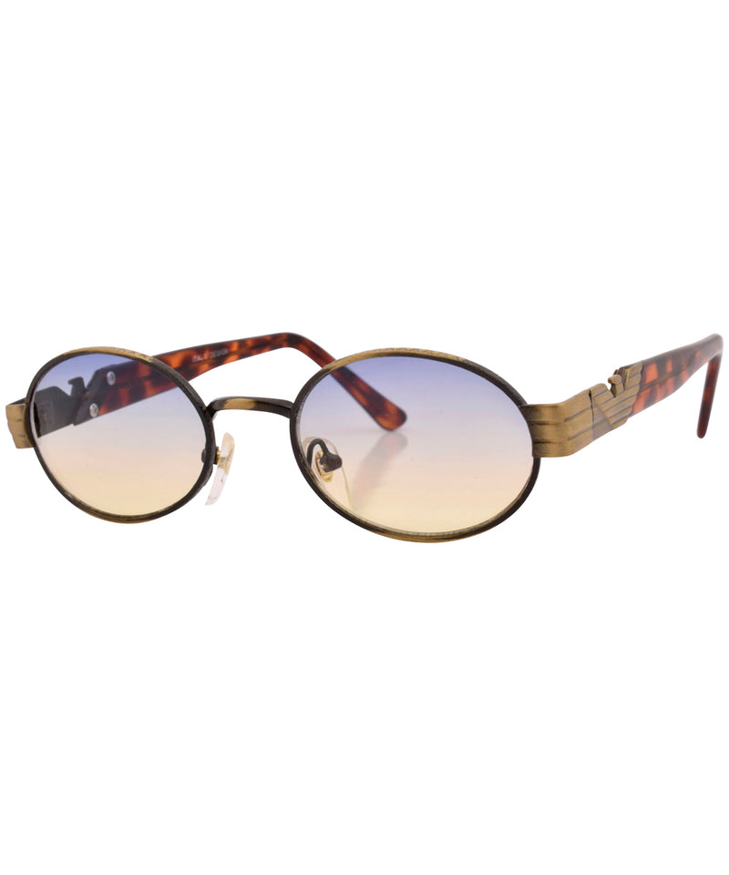 hours brass sunglasses
