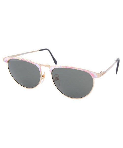 hysteric gold pink sunglasses