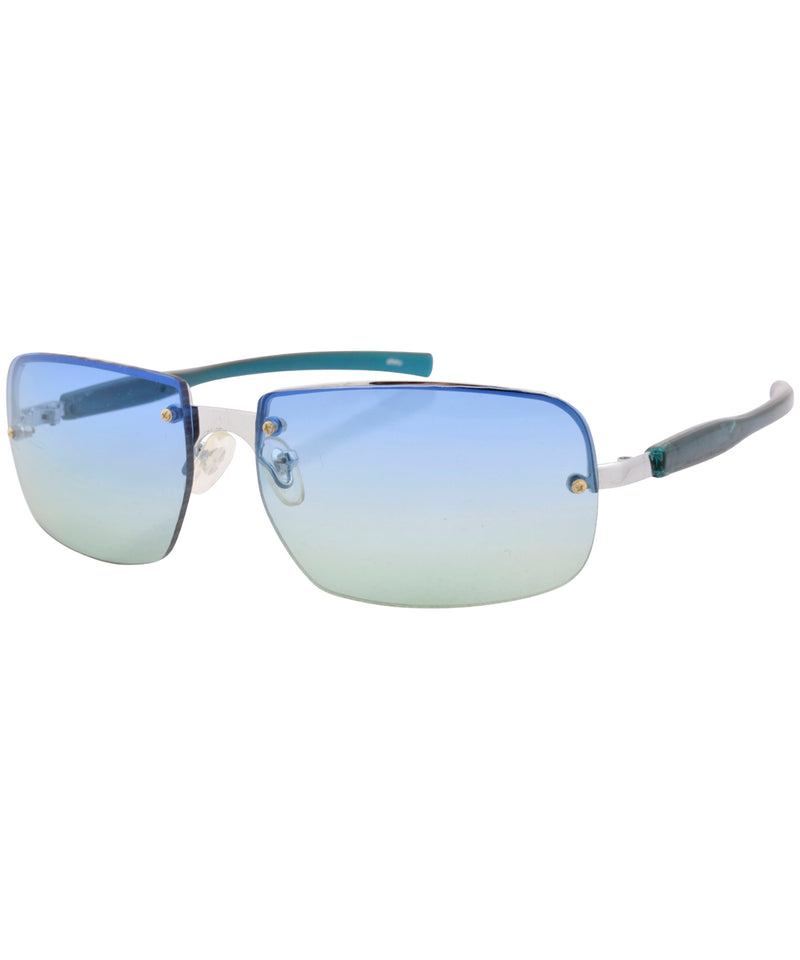 icee blue green sunglasses