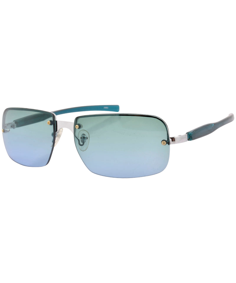 icee green blue sunglasses