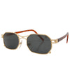 idiom gold sunglasses