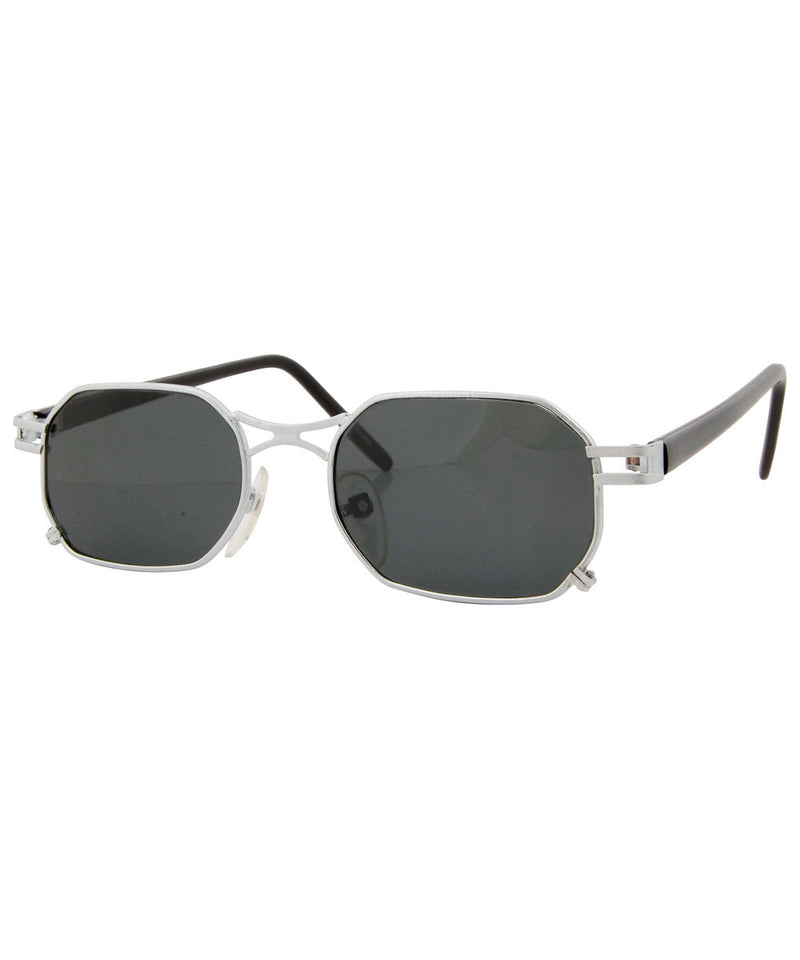 idiom silver sunglasses