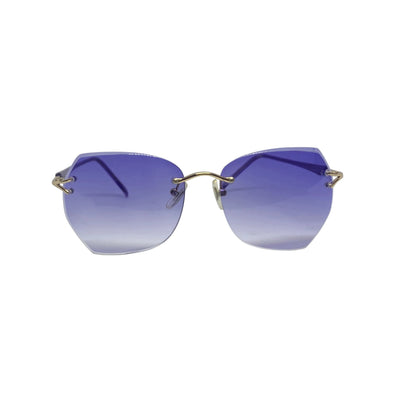 BELLYBOP Purple 90s Rimless Sunnies