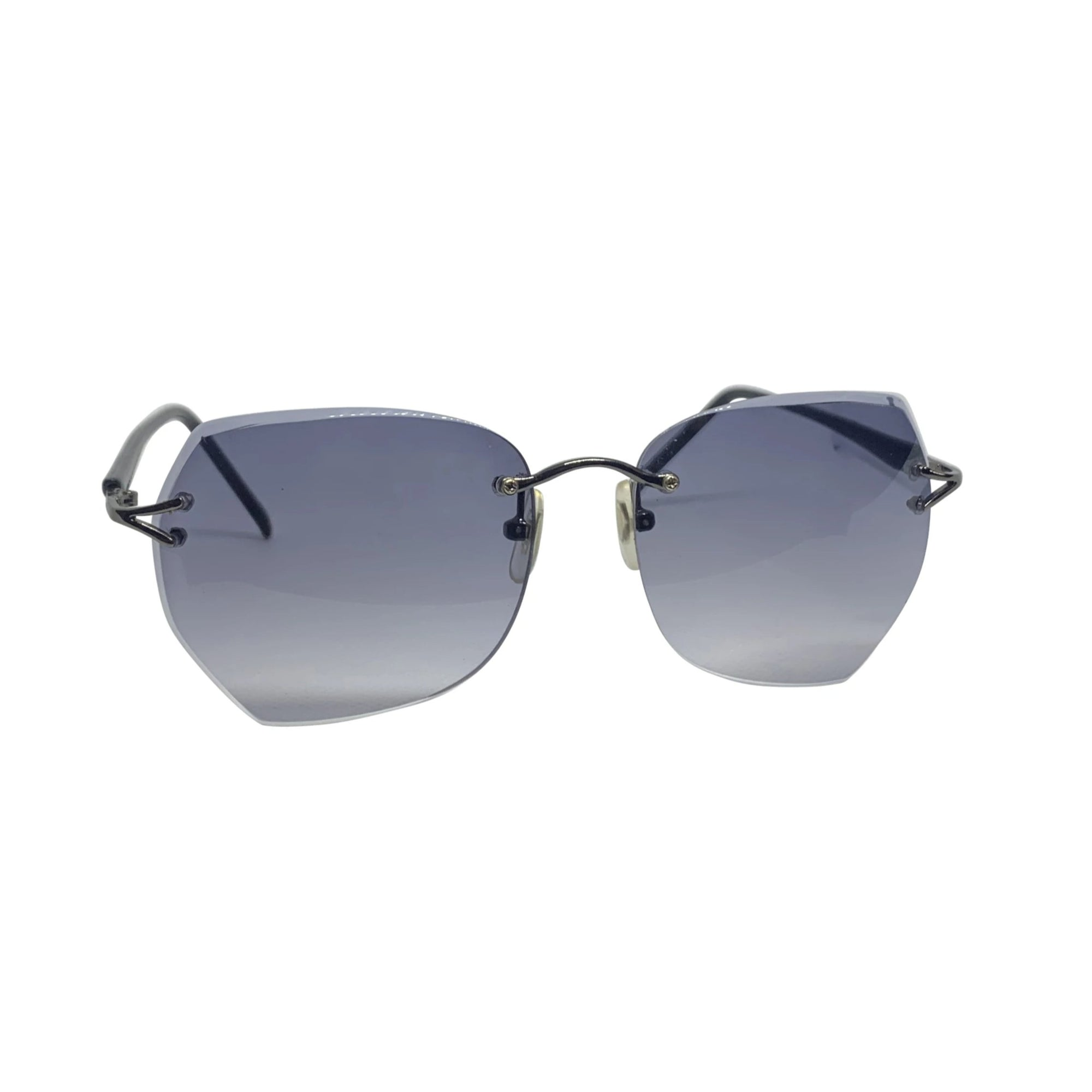 BELLYBOP Smoke 90s Rimless Sunnies