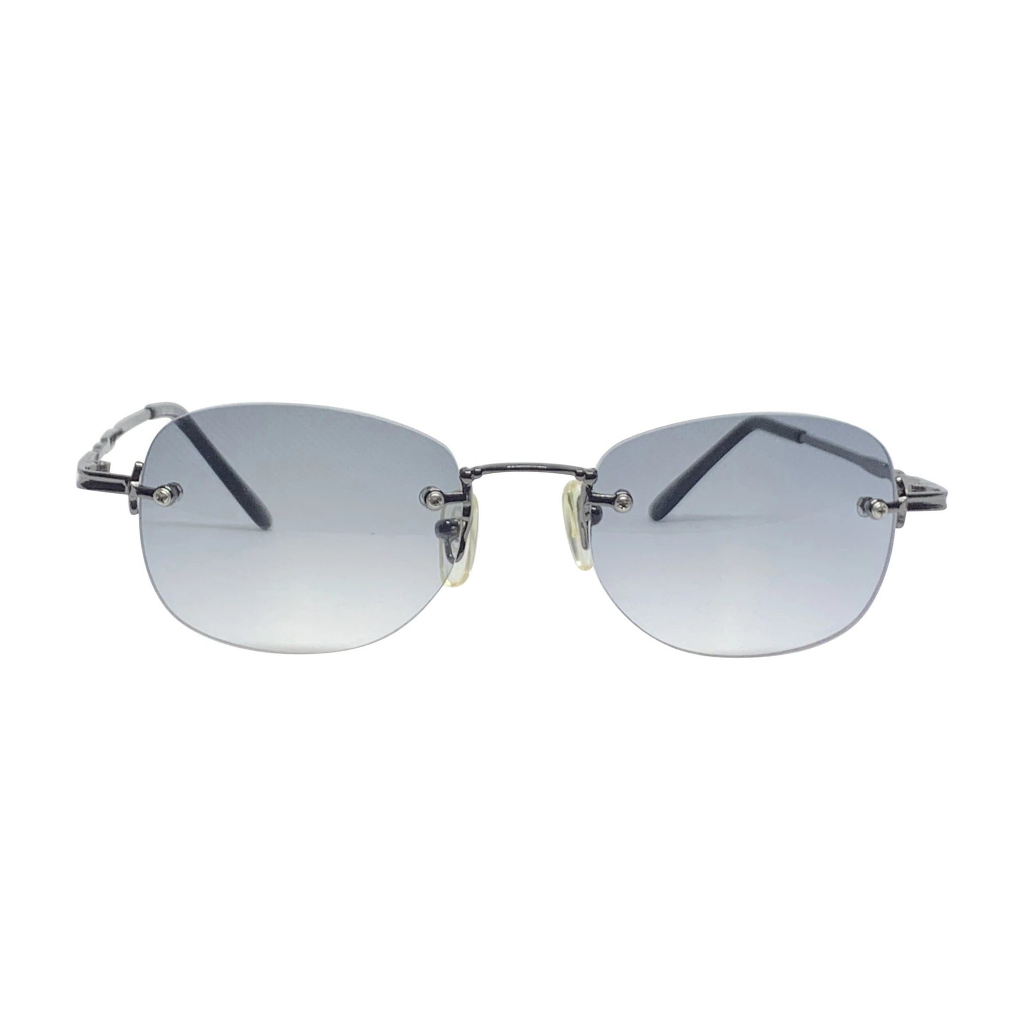 ESSENCE Steel and Smoke Rimless Sunnies