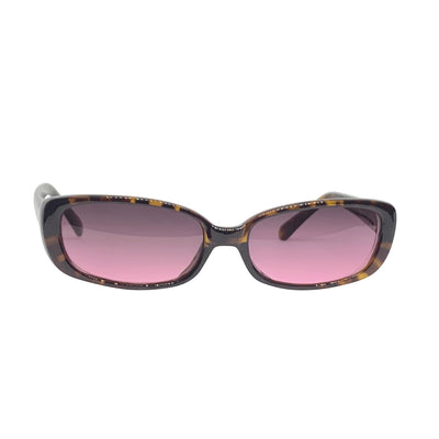 BUGGIN' Tortoise and Pink 90s Square Sunnies