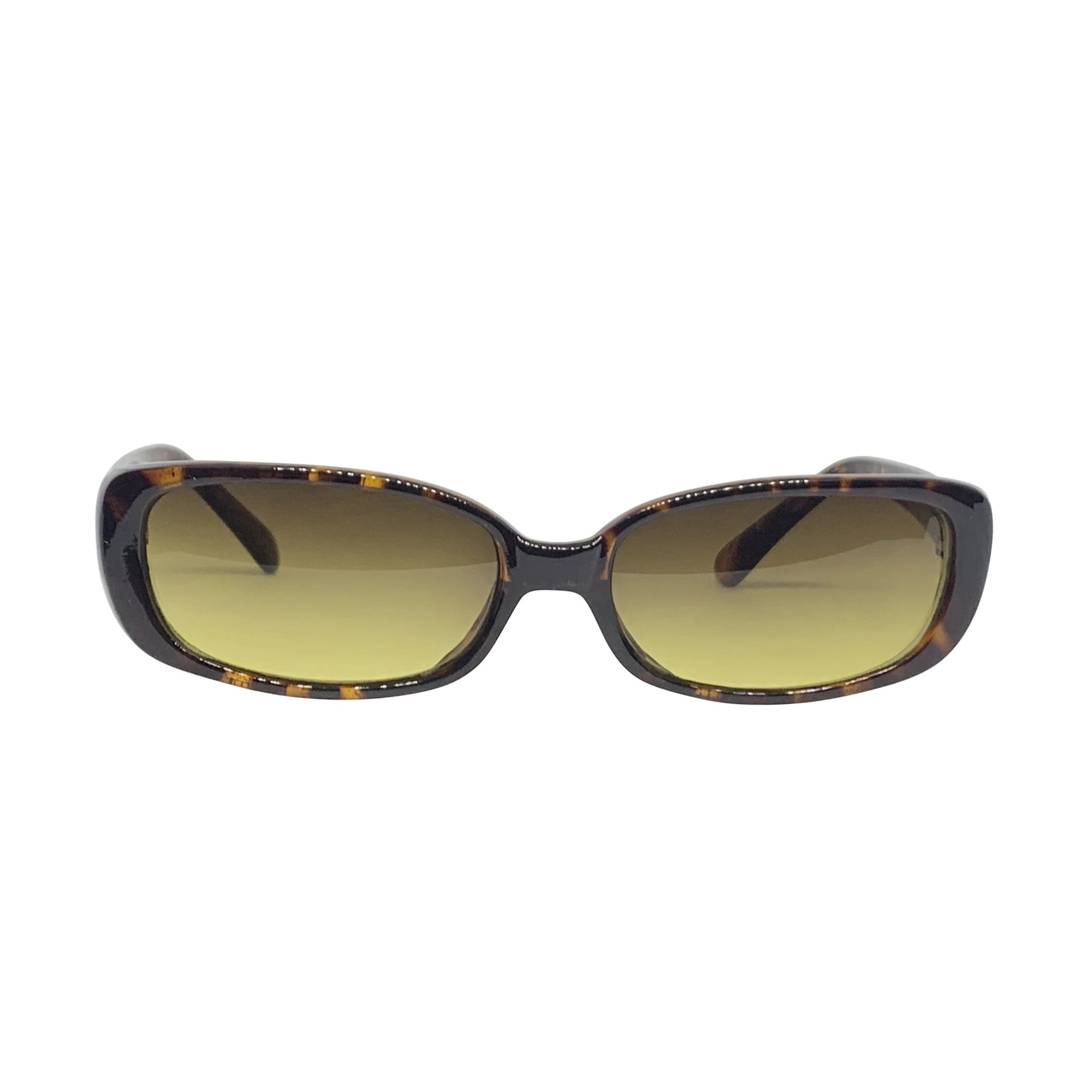 BUGGIN' Tortoise and Swamp 90s Square Sunnies