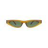 STALLION Coffee Sharp Cat  Eye Sunnies