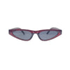 STALLION Black Cherry Sharp Cat Eye Sunnies