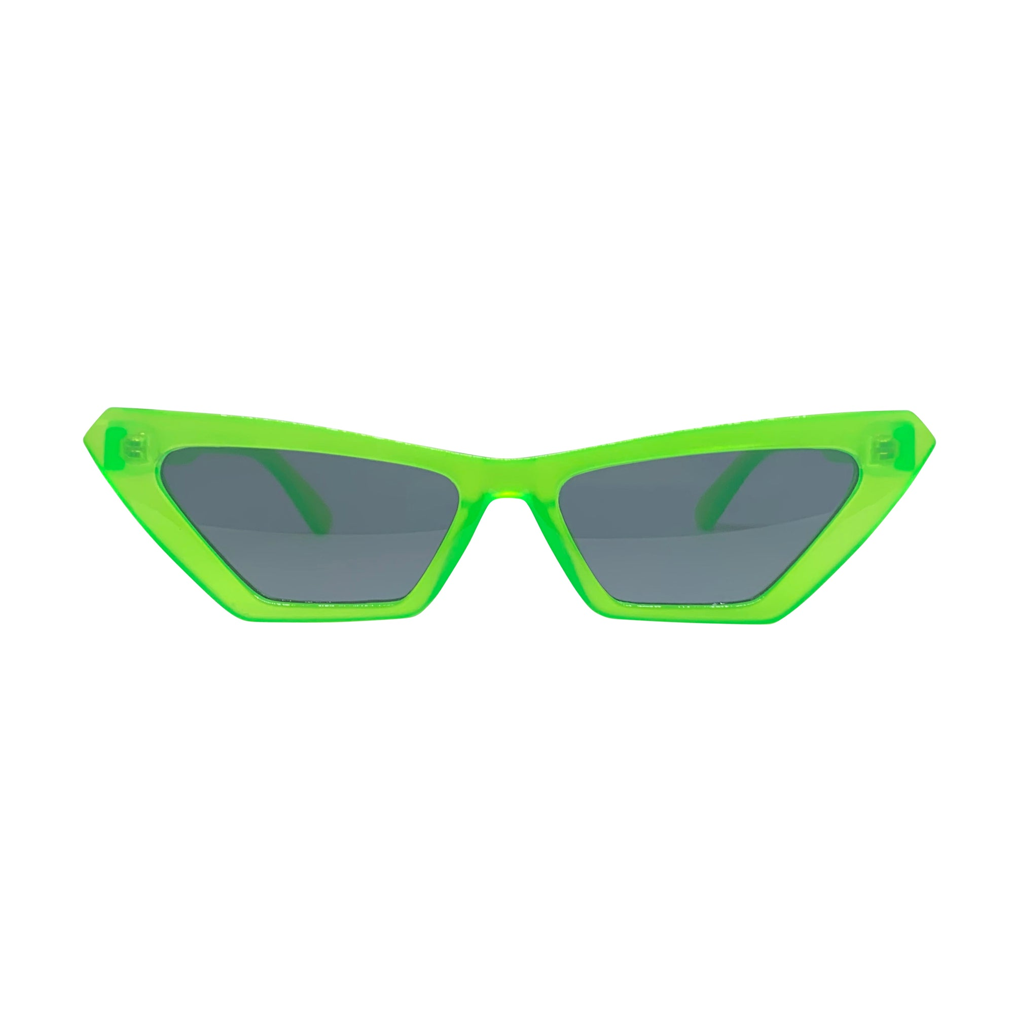 ANNABELLE Neon Green Cat-Eye Sunnies