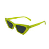 ANNABELLE Neon Yellow Cat-Eye Sunnies