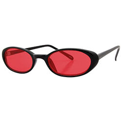 jammers black red sunglasses