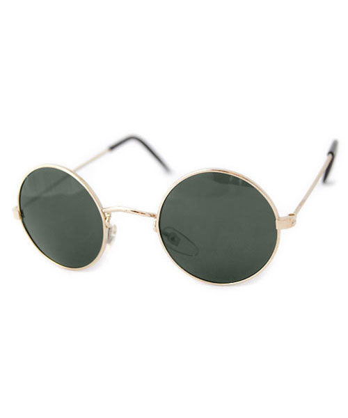 jazzy gold sunglasses