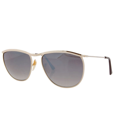 je veux gold sunglasses