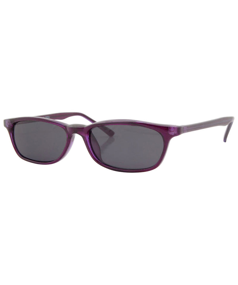 JOE'S Purple Square Sunglasses