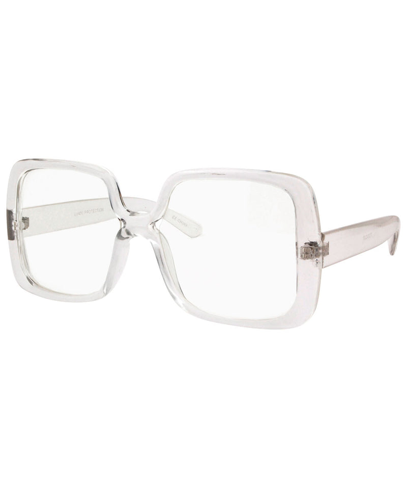 jojo crystal clear sunglasses