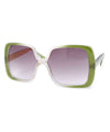 jojo green sunglasses