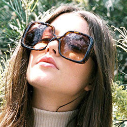 jojo demi brown sunglasses