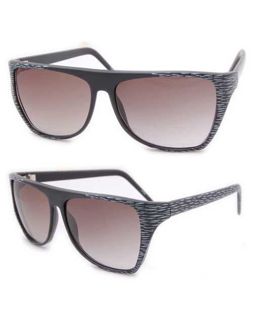 jr mama black white sunglasses