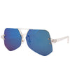 juice crystal blue sunglasses