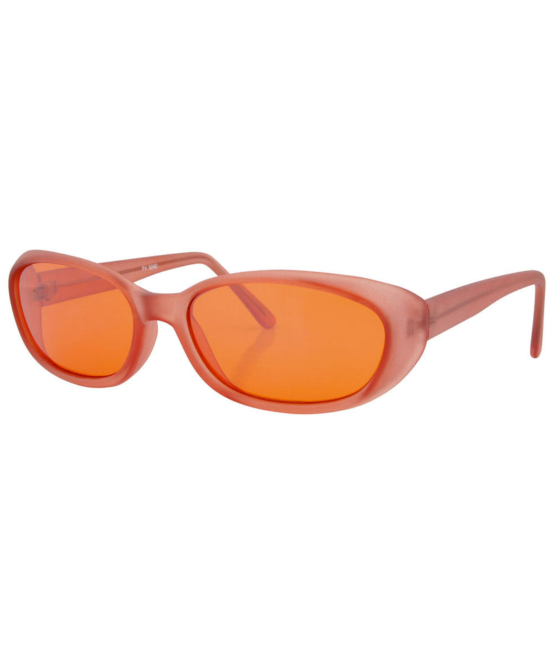 jujube orange sunglasses