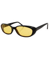 jujube yellow black sunglasses