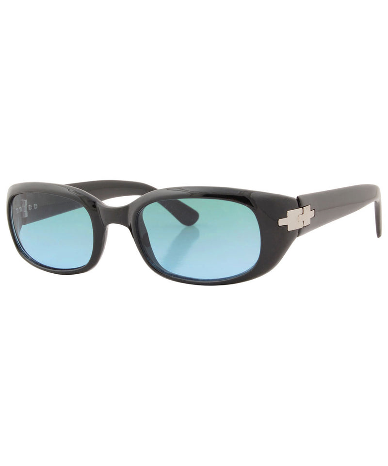 junie black blue sunglasses