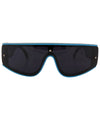 jupiter black blue sunglasses