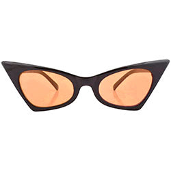 KADILLAC Black/Orange Cat-Eye Sunglasses