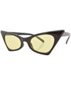 kadillac black yellow sunglasses