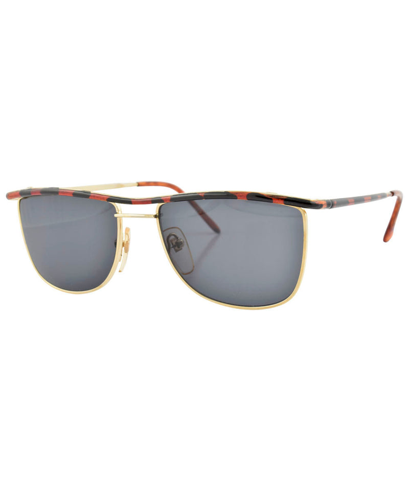 kansas demi gold sunglasses